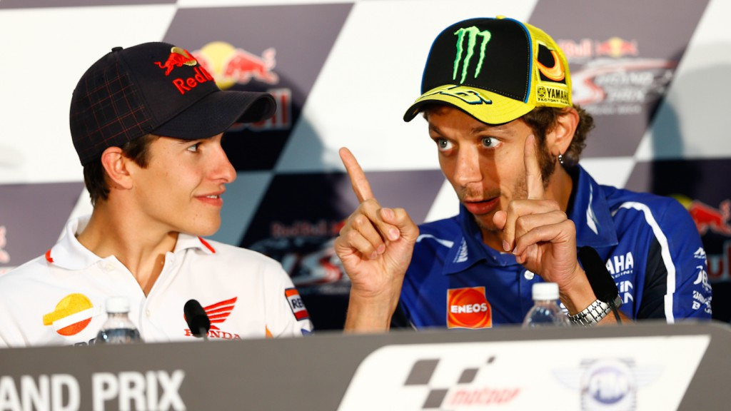 Marquez, Rossi, Red Bull U.S. Grand Prix Press Conference