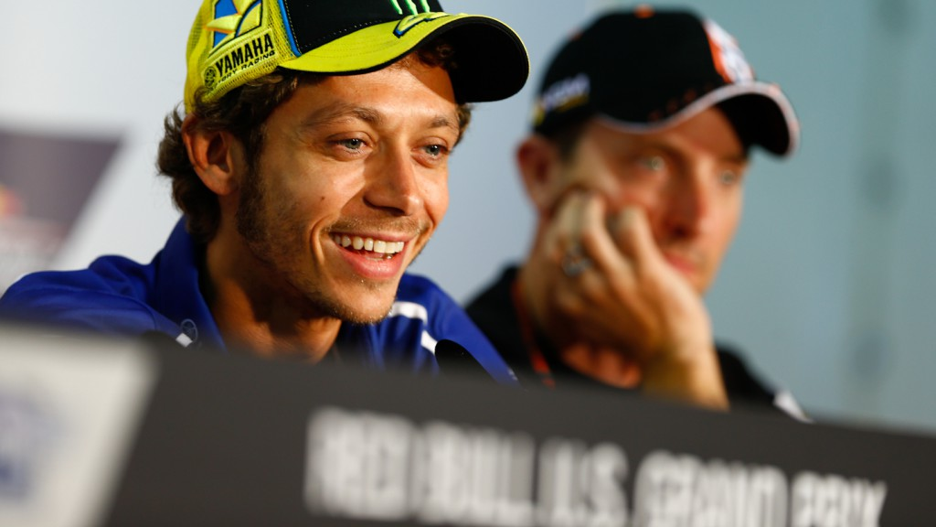 Valentino Rossi, Red Bull U.S. Grand Prix Press Conference