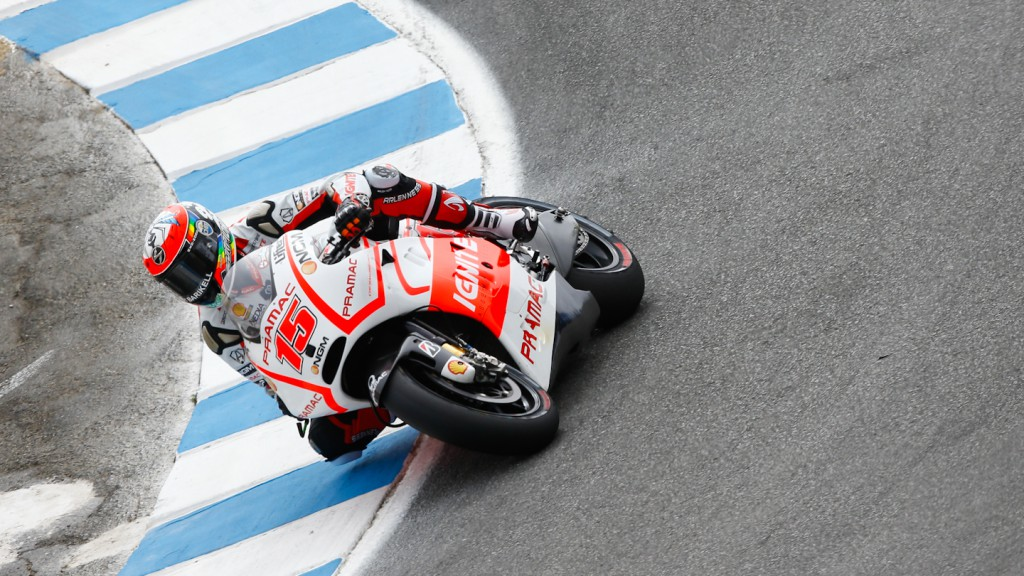 Alex de Angelis, Pramac Racing Team, Laguna Seca FP2