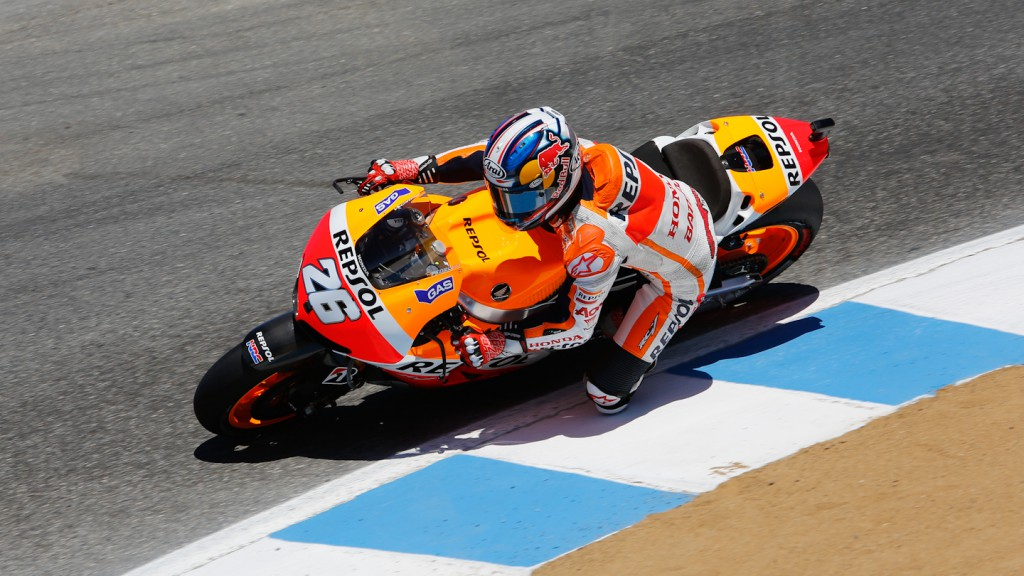Dani Pedrosa, Repsol Honda Team, Laguna Seca FP2