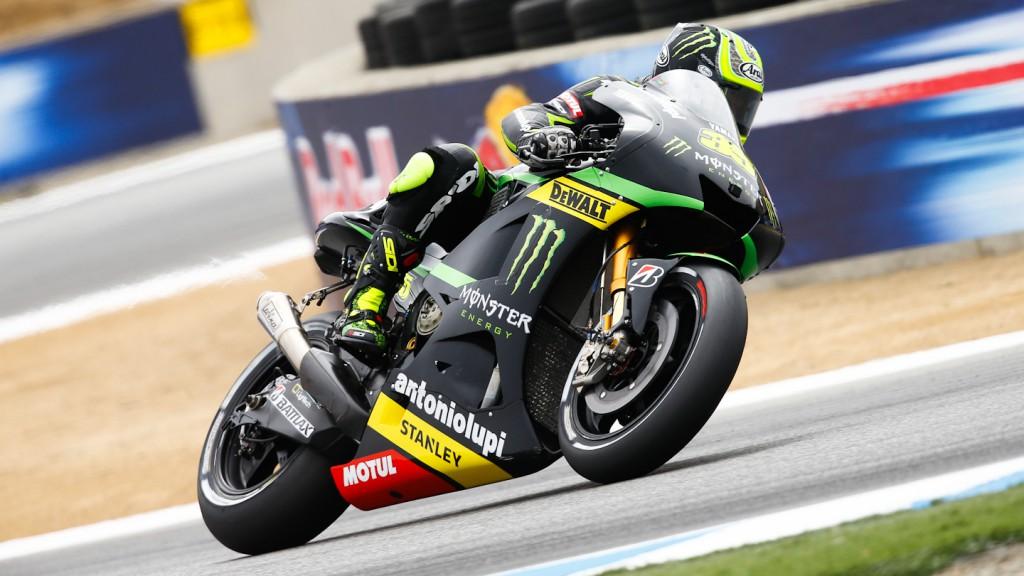 Cal Crutchlow, Monster Yamaha Tech 3, Laguna Seca FP1
