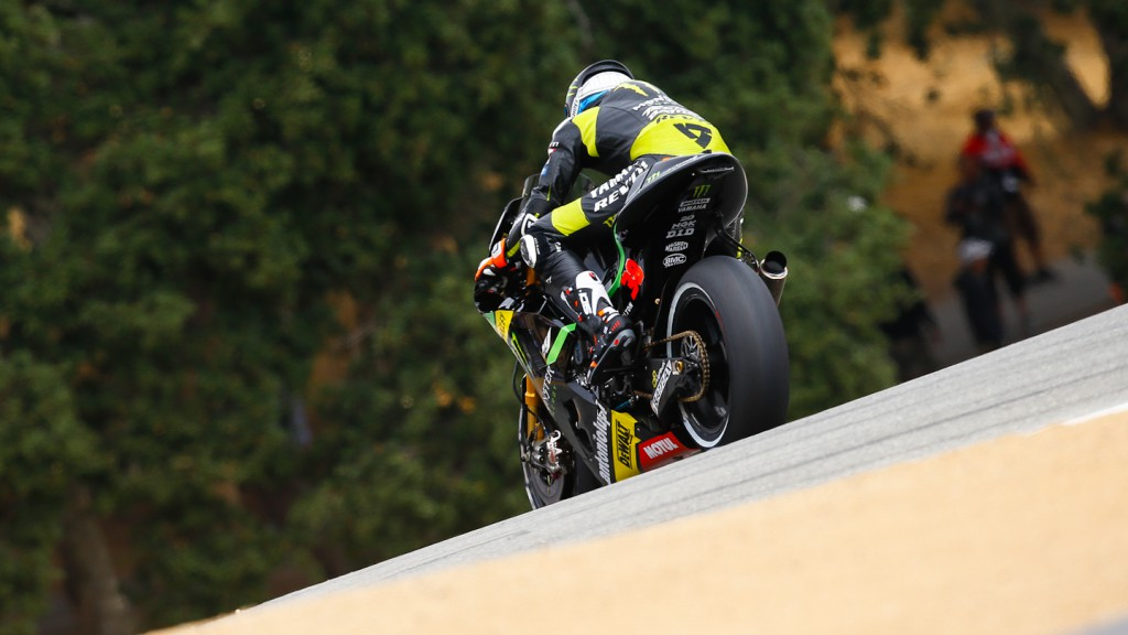 Bradley Smith, Monster Yamaha Tech 3, Laguna Seca FP2