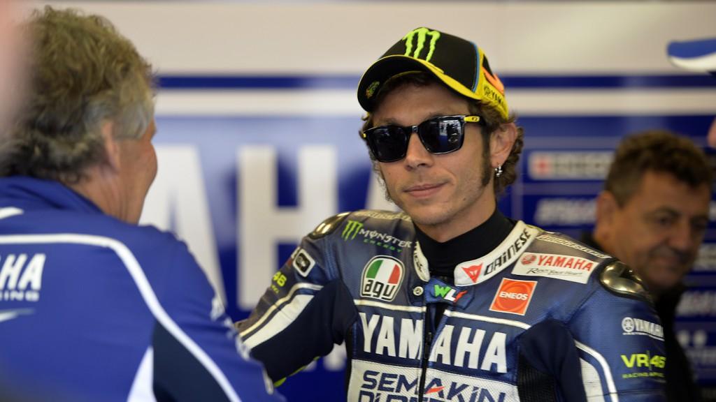Valentino Rossi, Yamaha Factory Racing, Laguna Seca FP2