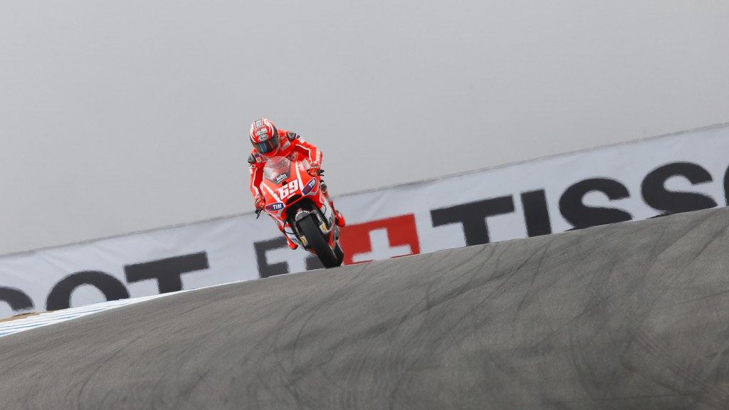 Nicky Hayden, Ducati Team, Laguna Seca FP1