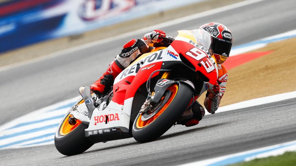 Marc Marquez, Repsol Honda Team, Laguna Seca FP2