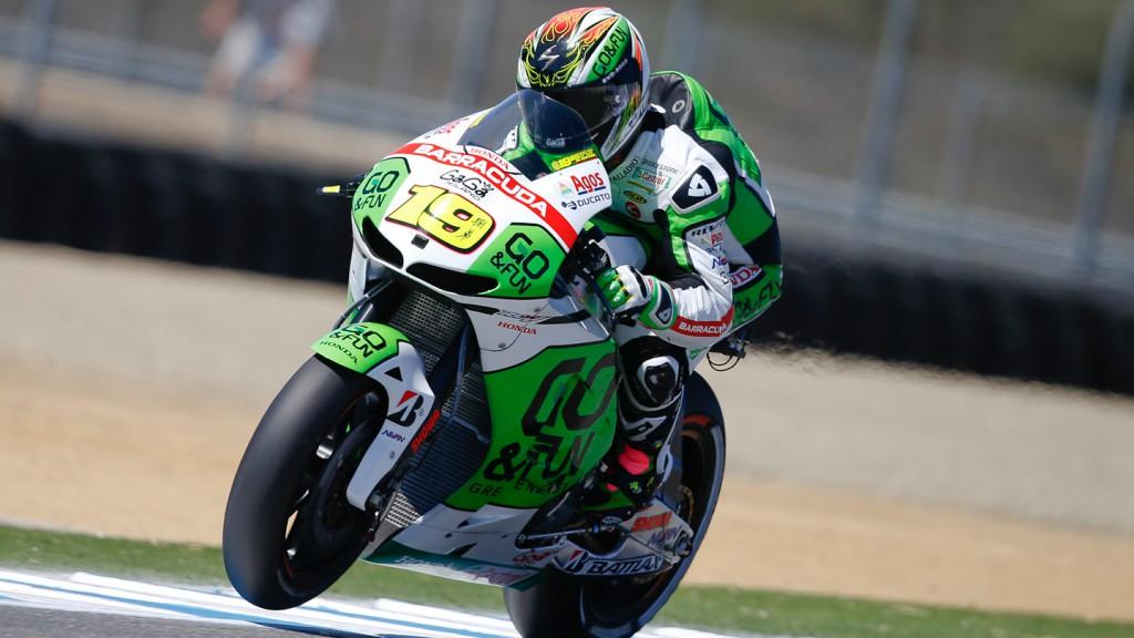 Alvaro Bautista, GO&FUN Honda Gresini, Laguna Seca Q2