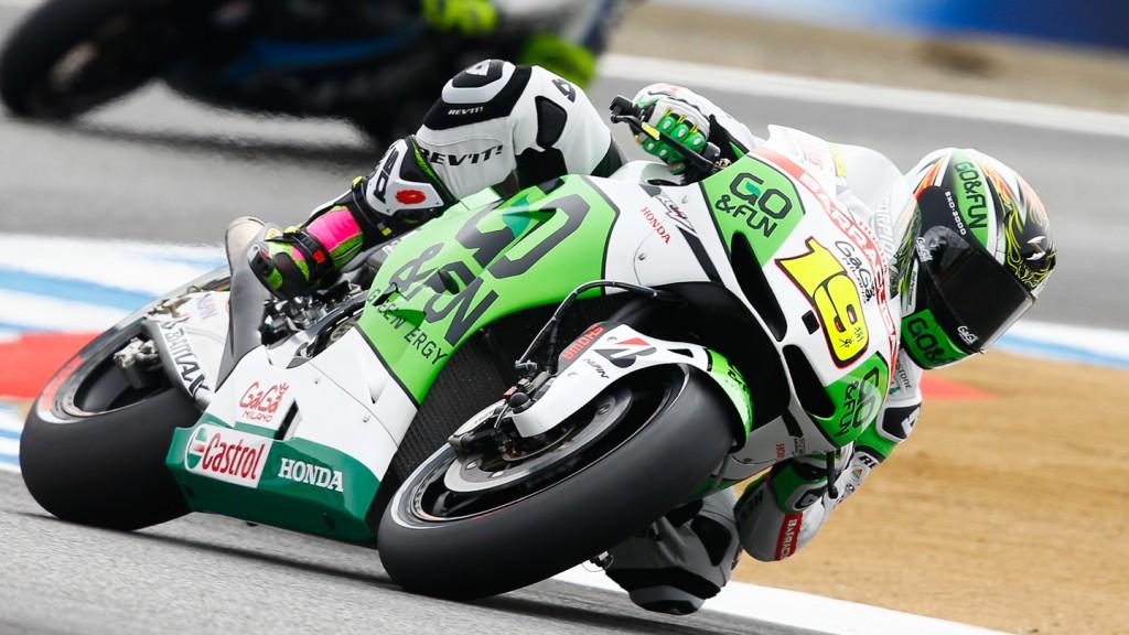 Alvaro Bautista, GO&FUN Honda Gresini, Laguna Seca FP3
