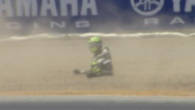Laguna Seca 2013 - MotoGP - FP4 - Action - Cal Crutchlow - crash