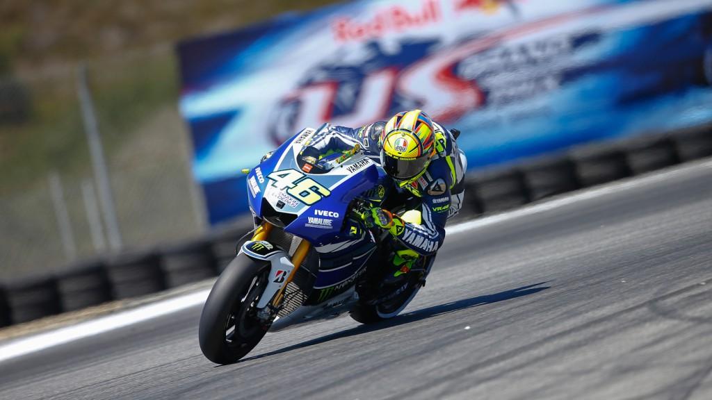 Valentino Rossi, Yamaha Factory Racing, Laguna Seca Q2