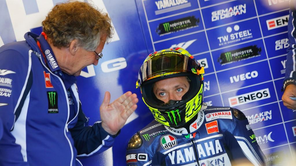 Valentino Rossi, Yamaha Factory Racing, Laguna Seca FP3