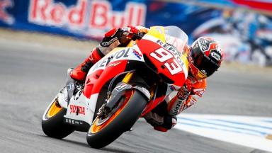 Marc Marquez, Repsol Honda Team, Laguna Seca FP3