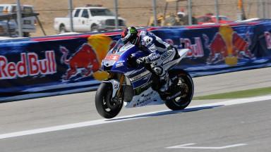 Jorge Lorenzo, Yamaha Factory Racing, Laguna Seca Q2