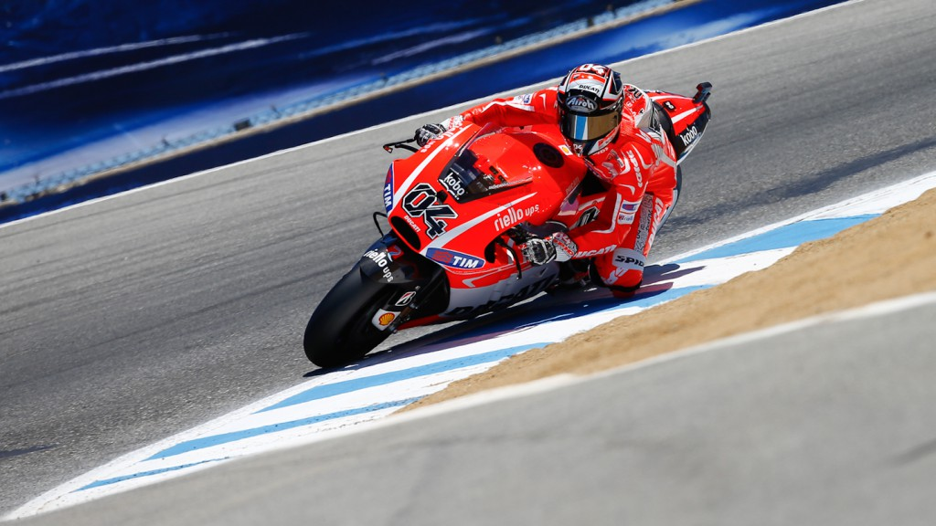 Andrea Dovizioso, Ducati Team, Laguna Seca RAC