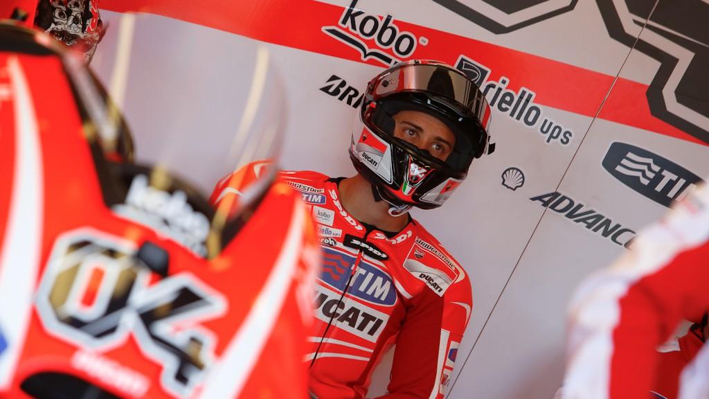 Andrea Dovizioso, Ducati Team, Laguna Seca Q2
