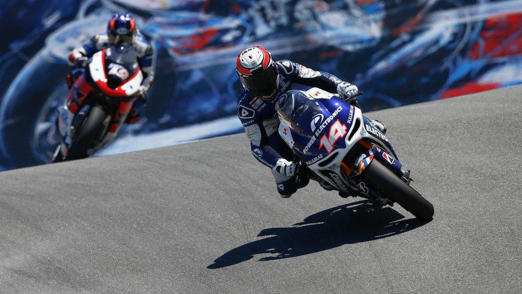 Randy de Puniet, Power Electronics Aspar, Laguna Seca FP2