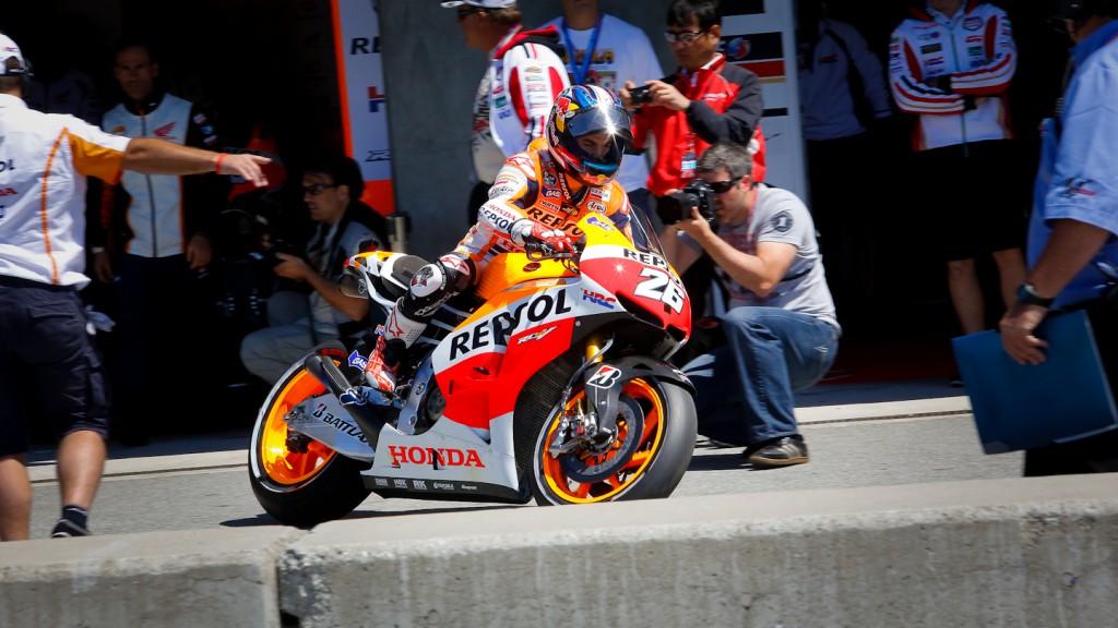 Dani Pedrosa, Repsol Honda Team, Laguna Seca Q2