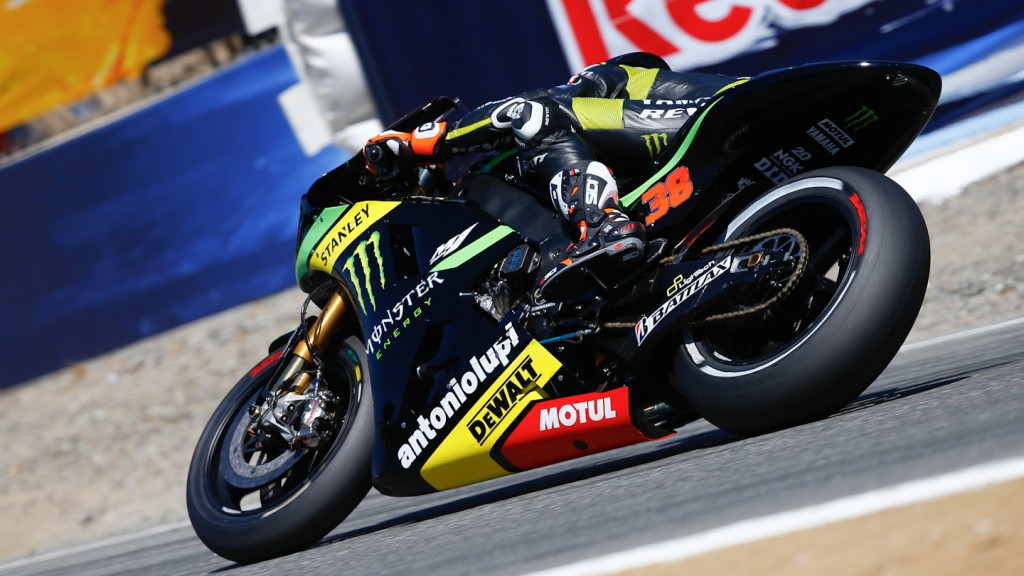 Bradley Smith, Monster Yamaha Tech 3, Laguna Seca WUP