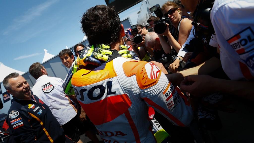 Valentino Rossi, Marc Marquez, Yamaha Factory Racing, Repsol Honda Team, Laguna Seca RAC