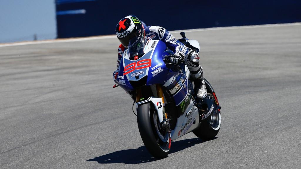 Jorge Lorenzo, Yamaha Factory Racing, Laguna Seca WUP