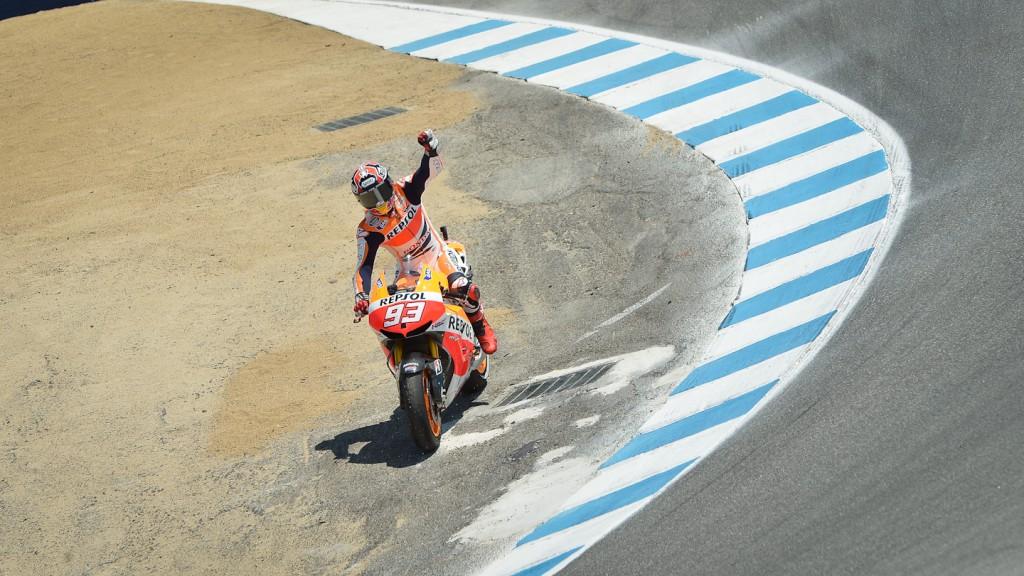 Marc Marquez, Repsol Honda Team, Laguna Seca RAC
