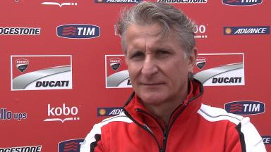 Paolo Ciabatti reviews first part of 2013 season