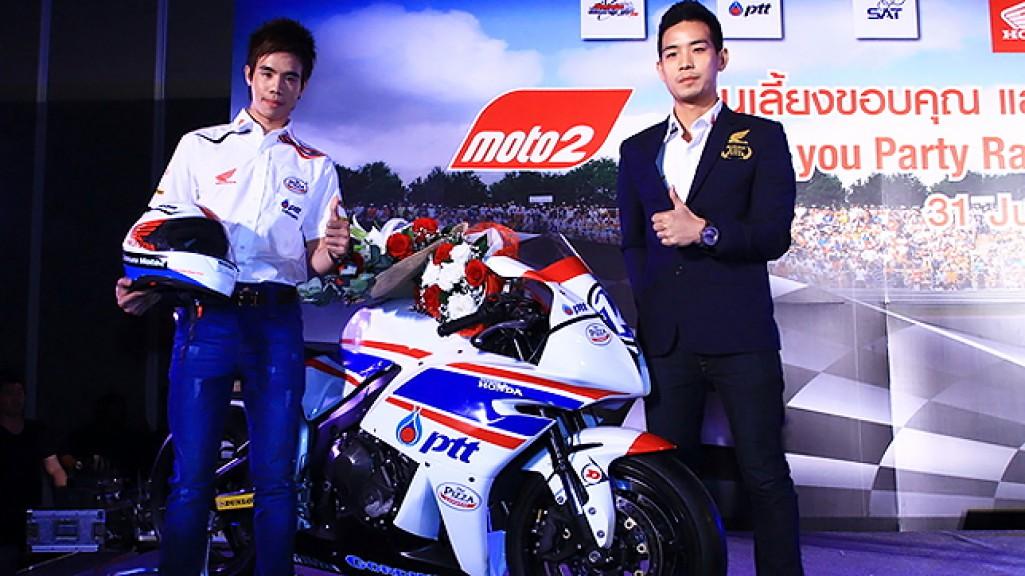 Thitipong Warakorn, Ratthapark Wilairot, Thai Honda PTT Gresini Moto2