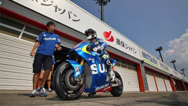 Randy De Puniet, Suzuki MotoGP, Motegi Test