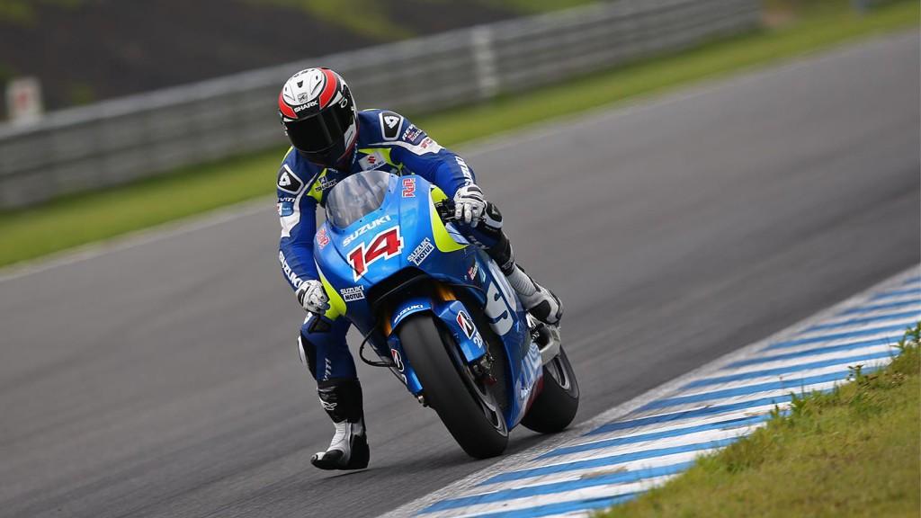 Randy De Puniet, Suzuki MotoGP, Motegi Test