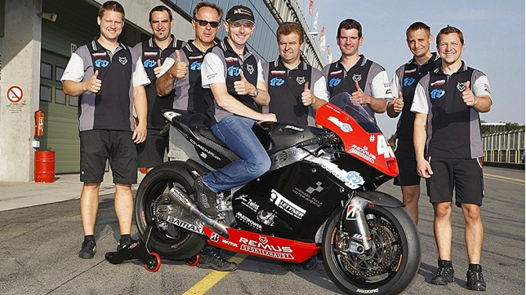 Martin Bauer & Remus Racing Team Staff