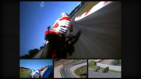 Jorge Lorenzo has won the Gran Premi Aperol de Catalunya for the third time in four years, beating Dani Pedrosa and Marc Marquez on Sunday afternoon. Valentino Rossi rode a lonely race to fourth position while as many as eight riders retired, including Cal Crutchlow who crashed out on the sixth lap.