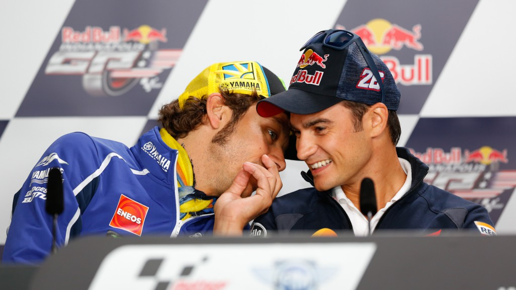 Rossi, Pedrosa, Red Bull Indianapolis Grand Prix Press Conference