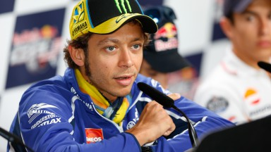 Valentino Rossi, Red Bull Indianapolis Grand Prix Press Conference