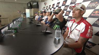 What They're Saying: Thursday's press conference at Indianapolis