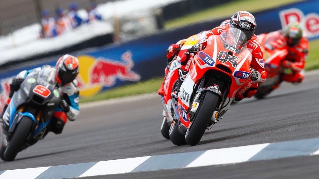 Andrea Dovizioso, Ducati Team, Indianapolis FP2
