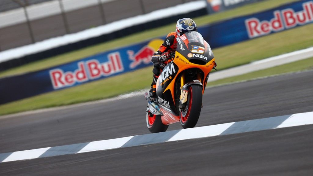 Colin Edwards, NGM Forward Racing, Indianapolis FP1
