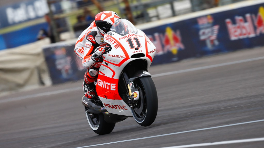 Ben Spies, Pramac Racing Team, Indianapolis FP1