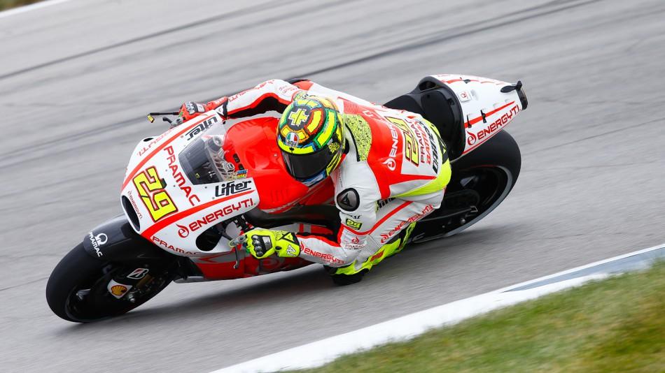 motogp.com · Andrea Iannone, Pramac Racing Team, Indianapolis FP1