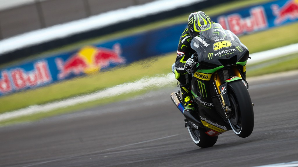 Cal Crutchlow, Monster Yamaha Tech 3, Indianapolis FP1