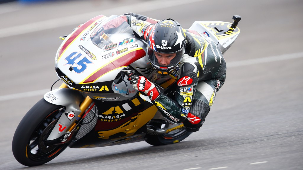 Scott Redding, Marc VDS Racing Team, Indianapolis FP2