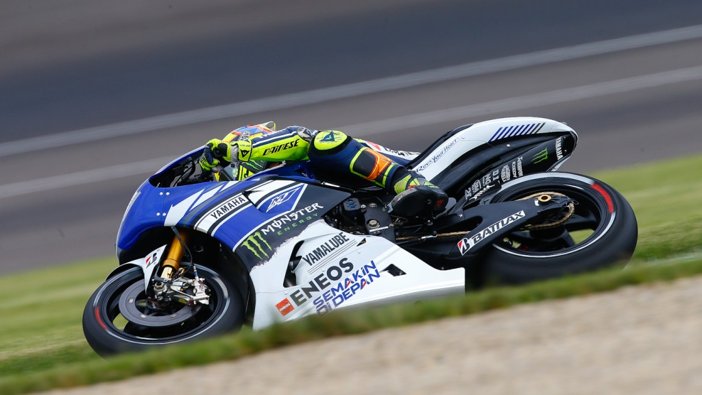 Valentino Rossi, Yamaha Factory Racing, Indianapolis FP1