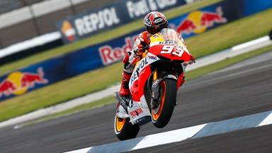 Marc Marquez, Repsol Honda Team, Indianapolis FP1