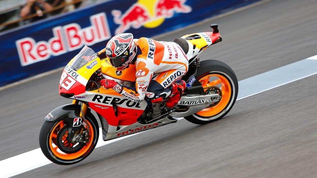 Marc Marquez, Repsol Honda Team, Indianapolis FP2