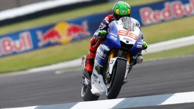 Jorge Lorenzo, Yamaha Factory Racing, Indianapolis FP1