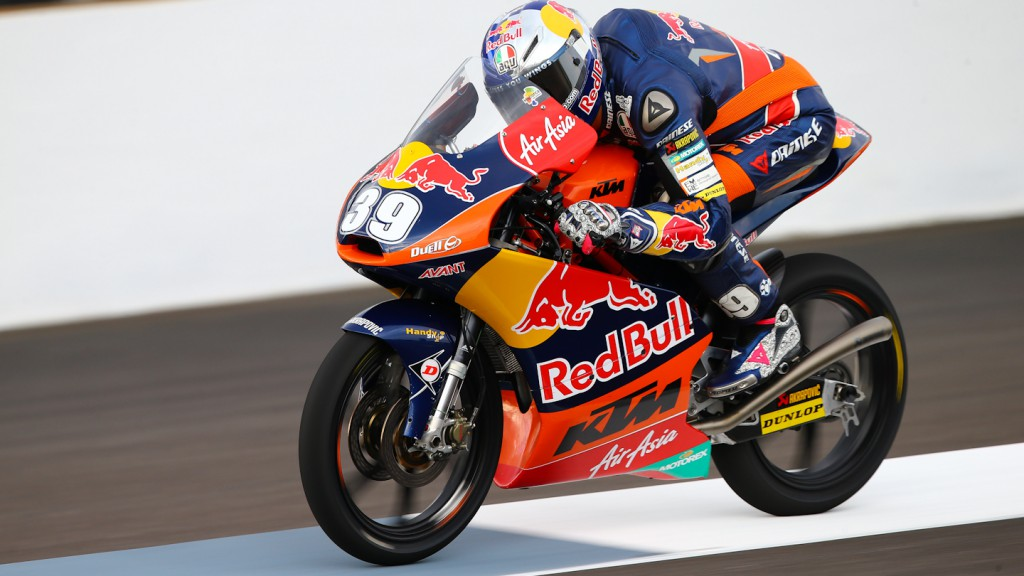 Luis Salom, Red BUll KTM Ajo, Indianapolis FP2