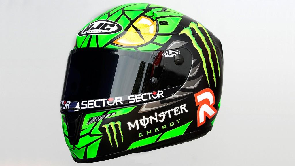 Jorge Lorenzo Green Mamba Helmet