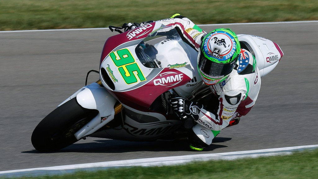 Anthony West, QMMF Racing Team, Indianapolis FP3