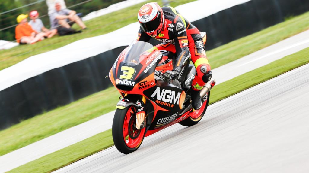 Simone Corsi, NGM Mobile Racing, Indianapolis QP