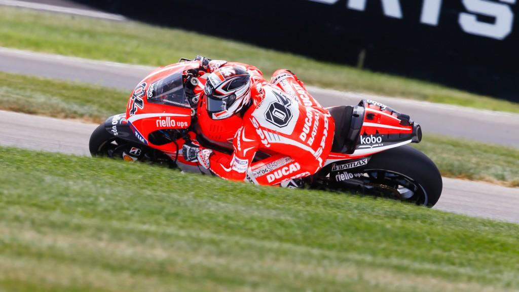 Andrea Dovizioso, Ducati Team, Indianapolis FP3