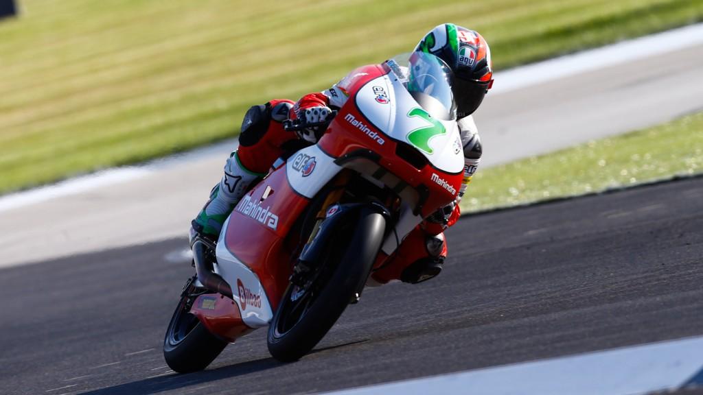 Efren Vazquez, Mahindra Racing, Indianapolis QP