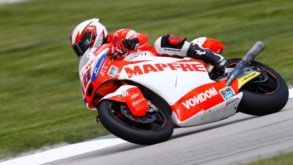 Nico Terol, Aspar Team Moto2, Indianapolis QP